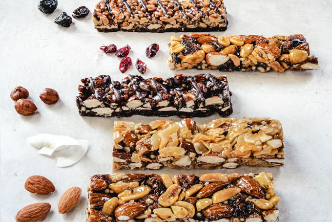 homemade granola bars - healthy, vegan, paleo