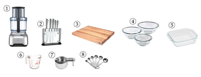 kitchen tools for cereal bars