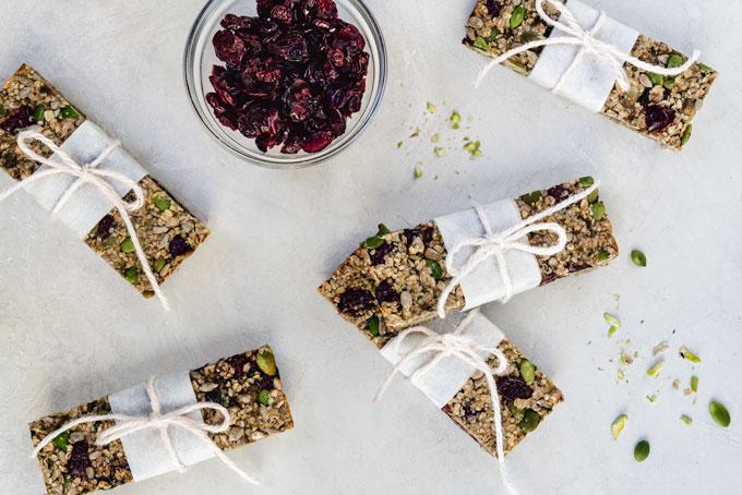 muesli bars - healthy snack