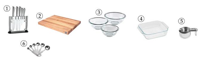 kitchen tools for muesli bars