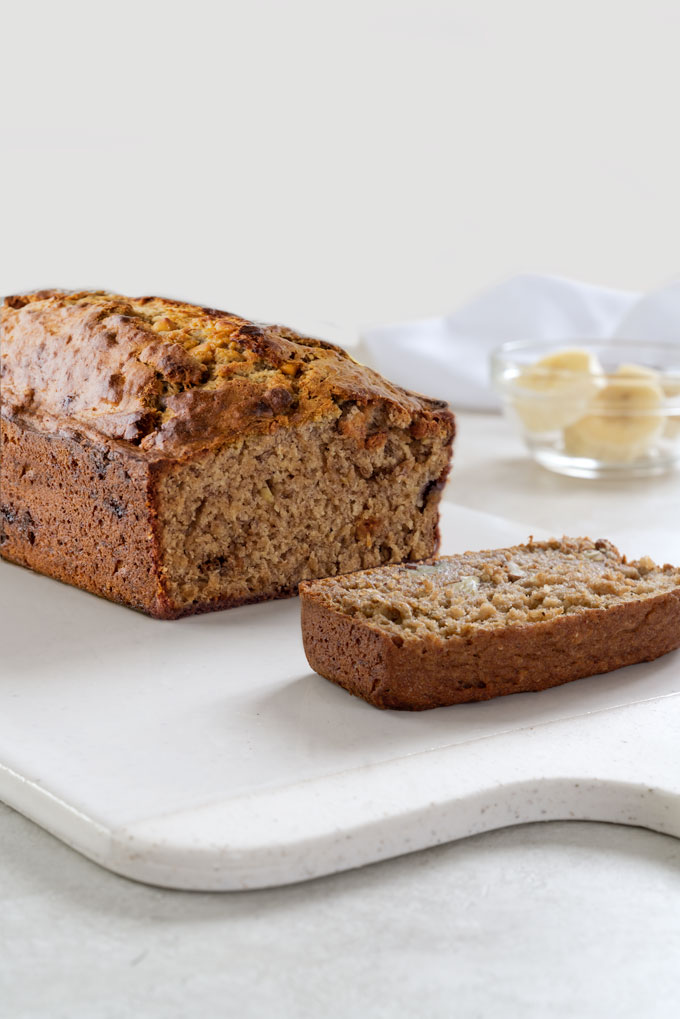 banana bread with dates - no dairy