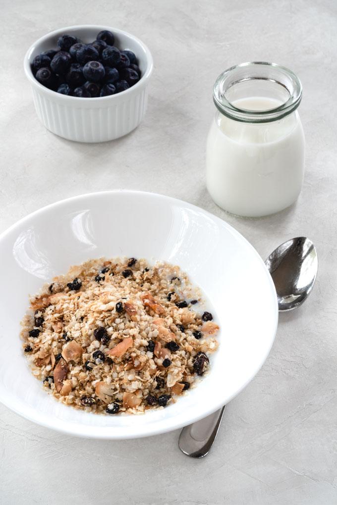 muesli - paleo (grain-free), nut-free, oil-free, sugar-free