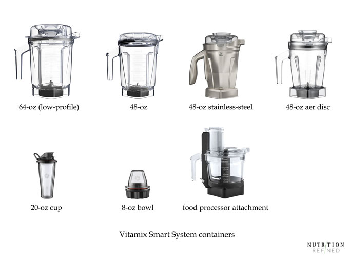 Vitamix Smart System containers