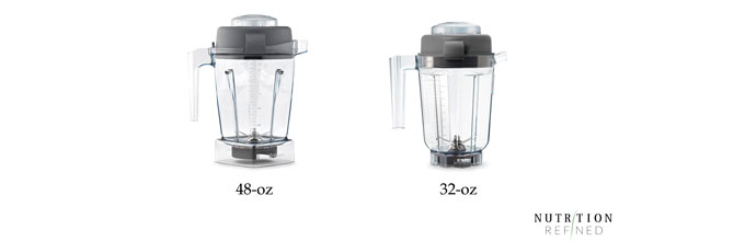 Vitamix 48-oz vs 32-oz container