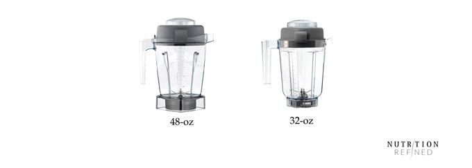 Vitamix containers - 48-oz vs 32-oz