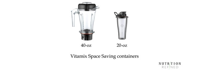 Vitamix Space Saving containers