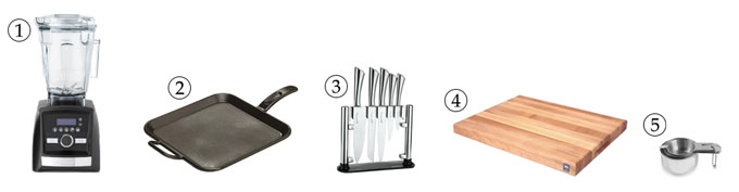 kitchen tools for watermelon sorbet
