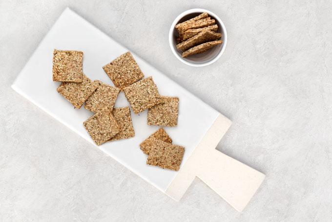 chia seed crackers recipe