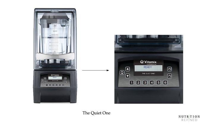The Quiet One - Vitamix blender