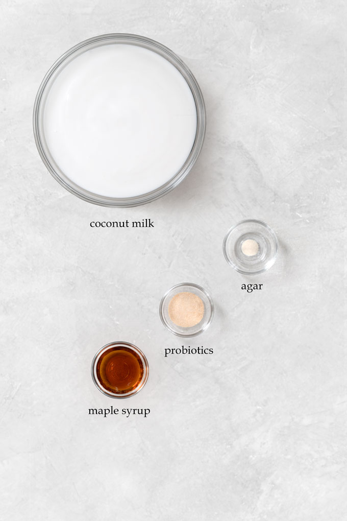 coconut milk yogurt ingredients