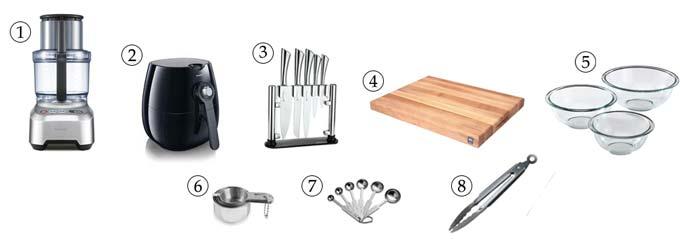 kitchen tools for crispy falafel