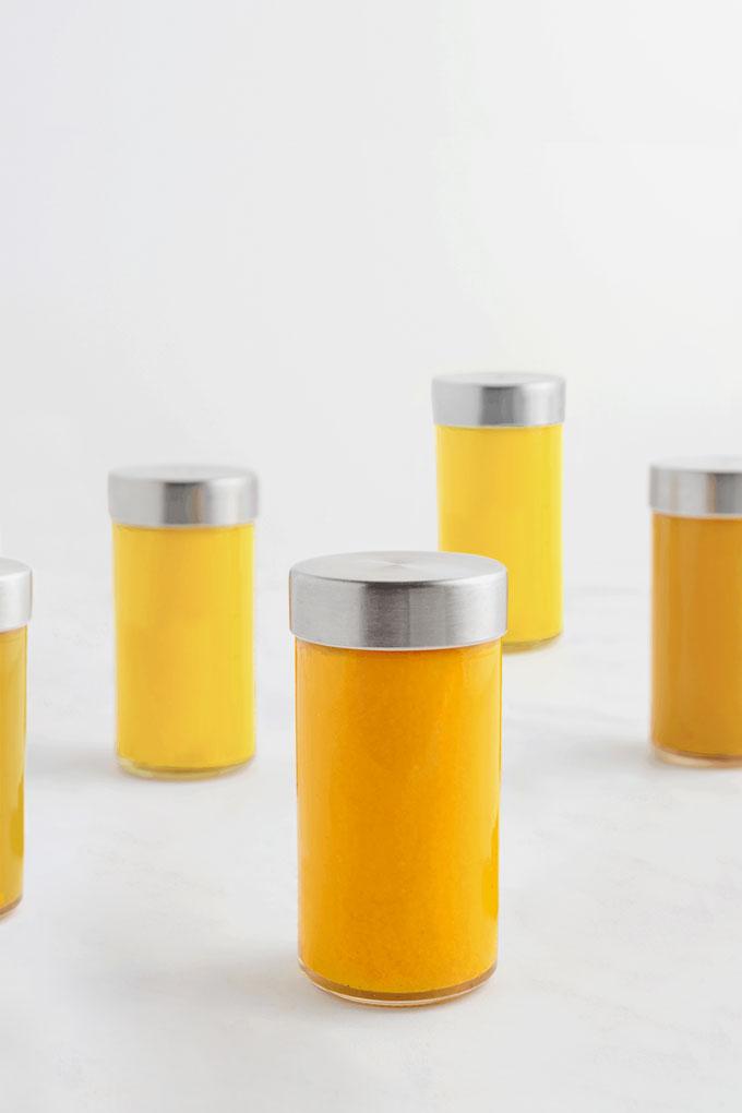 ginger lemon shots