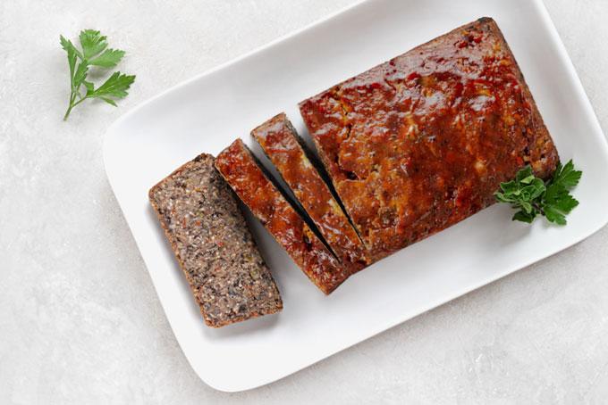 bean loaf - vegetarian, vegan, gluten-free, nut-free