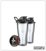 Vitamix 20-oz blending cup starter kit with SELF-DETECT